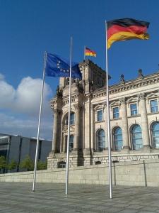 Reichstag Berlin v Flickr markhillary