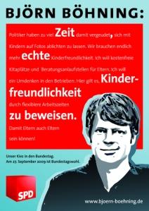 Wahlplakat von Björn Böhning